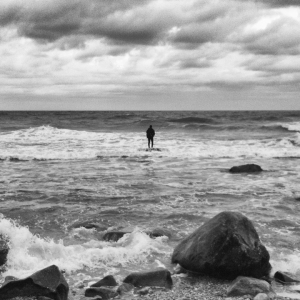 standing on water in Montauk Photo by Al Q