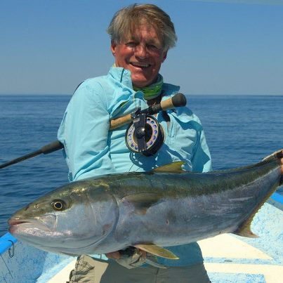 Congrats to OSF's team member, Gary Bulla on his pending IGFA 16lb tippet world record. Gary landed this fine yellowtail on the fly off Mexico, it weighed in at 34.9 lbs. Way to Gary! Photo by Gary Bulla