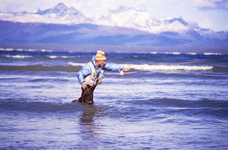 Yvon Chouninard fly fishing
