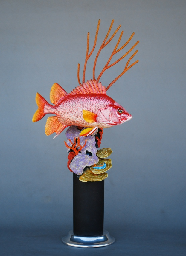 Photo courtesy of bob berry fish carvings