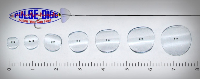 the various sizes of pulse discs from brineflyinnovations.com