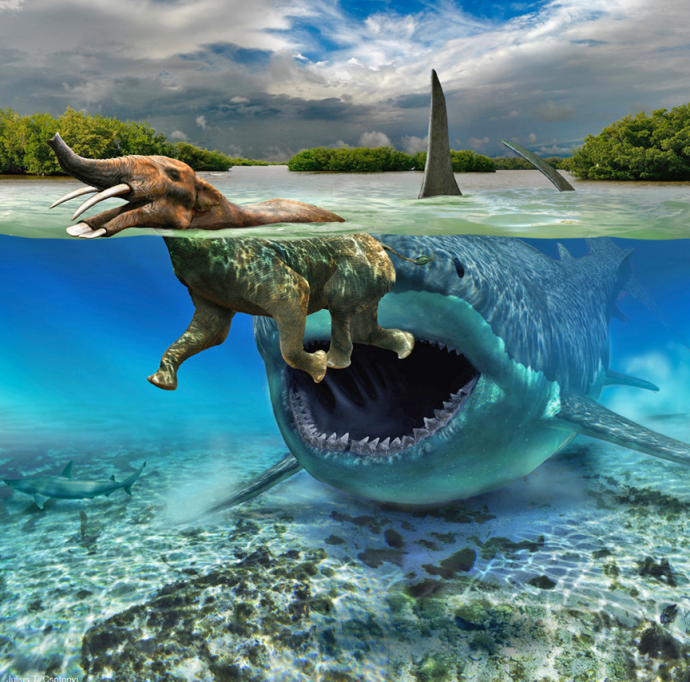 image courtesy of the paleoartist artist, Julius Csotonyi.