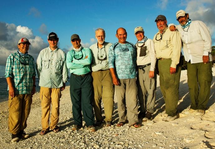 Paul Cronin, Al Q, Doug Spieske, James Bygrave, Jim Solomon, Mike Ward and Photographer extraodinaire, Jorge Salas.