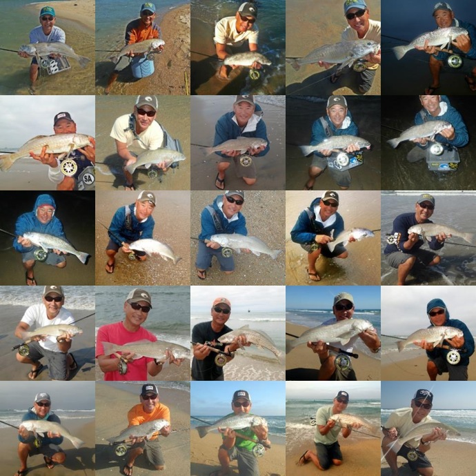 Glenn's epic 25 fish season 2014, photos by glenn ueda