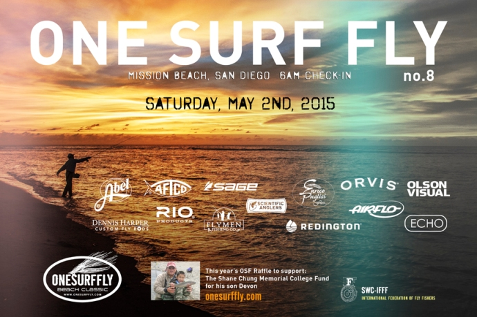 the official One Surf Fly poster