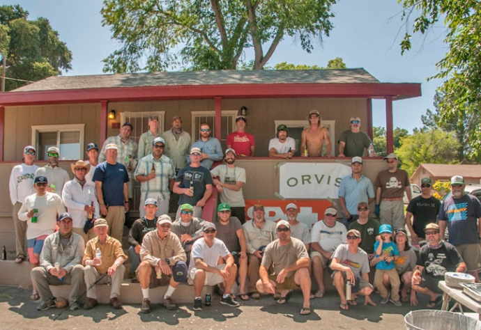 There were 40 registered anglers that participated in Conway Bowman and Al Q's Carp Throwdown at Lake Henshaw this past June 13th. It was a record breaking crowd. Photo by Al Quattrocchi