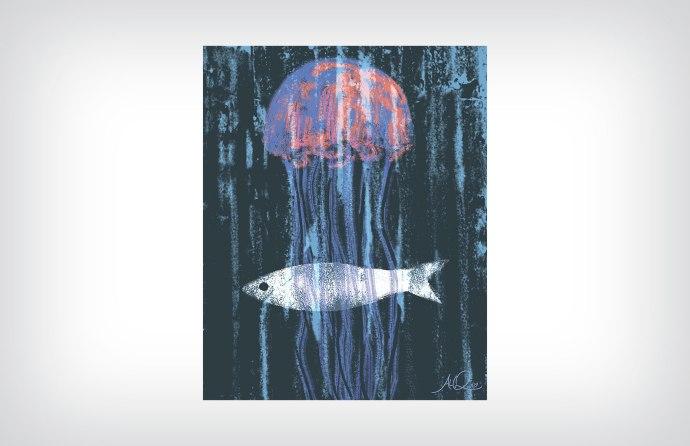 Jellyfish ©2015 Artwork by Al Quattrocchi