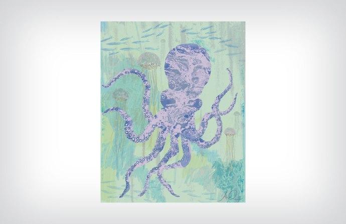 Octopus ©2015 Artwork by Al Quattrocchi