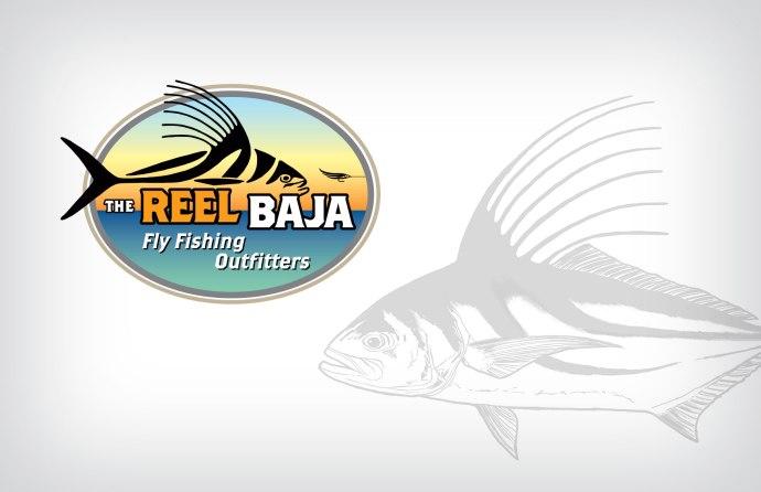Reel Baja logo. Artwork © 2015 Al Quattrocchi
