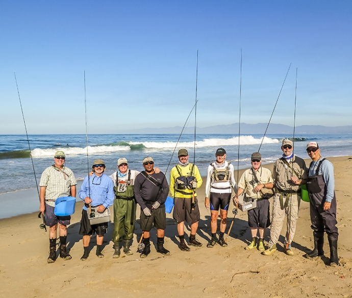 A great group of anglers. Photo by Al Q