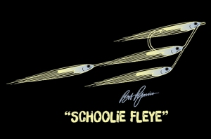 original Schoolie Fleye drawing and color design by Al Q (all rights reserved)