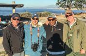 Gary Bulla, Al Q, Carl Crawford, and Jim Solomon