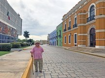 "Felix, ""The Godfather of Campeche"" our fearless tour guide. photo by Al Quattrocchi"