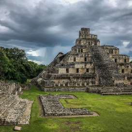 Etzna, Mayan ruin, 600 BC. Only one hour drive from town. Worth seeing. Photo by Al Quattrocchi
