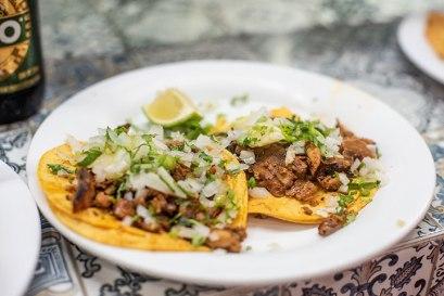 Tacos al Pastor. Photo by Al Quattrocchi
