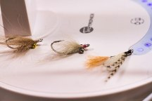 Some of Graham's lovely bonefish flies. Photo courtesy of Graham Day