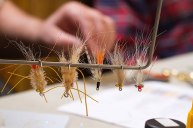 A fine fly selection ready for the fly box and flats. Photo courtesy of Graham Day